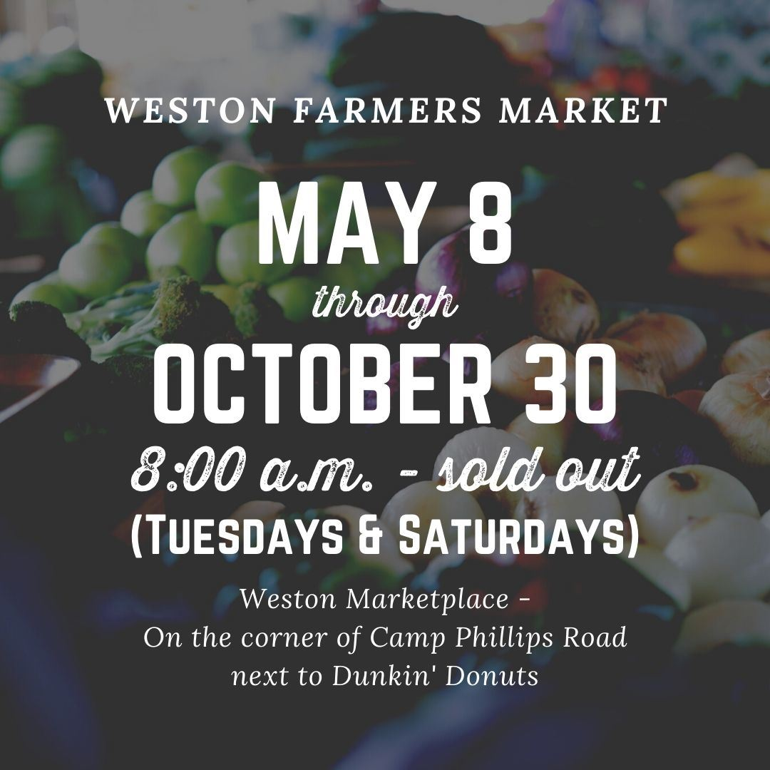 Copy of Weston farmers market