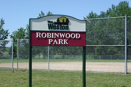 Robinwood Sign